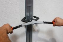 TWIN PROFIL® - Nouvelle pince à sertir les montants dos à dos