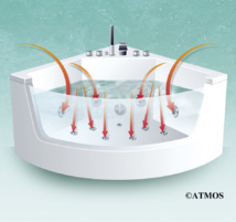 ATMOSBALNÉO - Purifie et nettoie efficacement les circuits eau et air des baignoires Balnéo