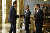 Ambassadeur de Pologne sur le stand OKNOPLAST de Batimat - La reconnaissance de la qualité et de l'exportation