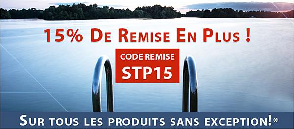 Pour acheter une bache de piscine : Code promo