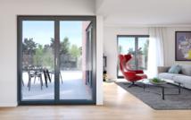 Nouveauté 2016 - Fenêtre PIXEL : Un nouveau profilé au design 100 % contemporain pour une luminosité exceptionnelle
