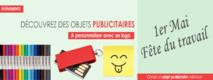 Des objets publicitaires pour la fête du travail le 1er Mai !