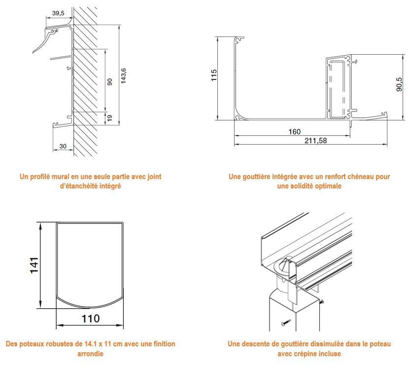 Exclusivité Direct-Abris : Carport aluminium TALIS