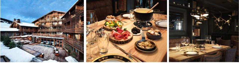 « Les Grands Crus de Fondues » : le nouveau restaurant du M de Megève