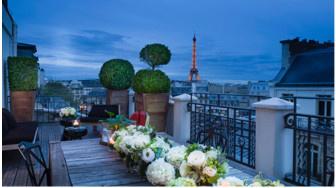 Une Saint-Valentin pour tous les goûts  à l'Hôtel Marignan Champs-Élysées
