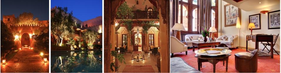 Le Riad-Hôtel La Maison Arabe à Marrakech classé parmi les 5 meilleurs hôtels de luxe au monde