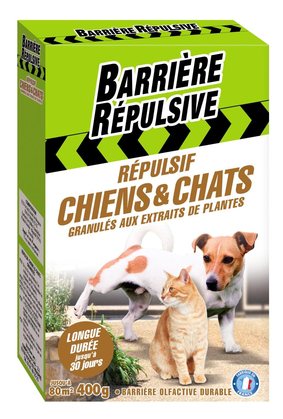 Nouveaux Répulsifs Chiens et Chats - Une barrière olfactive durable à base d'extraits de plantes