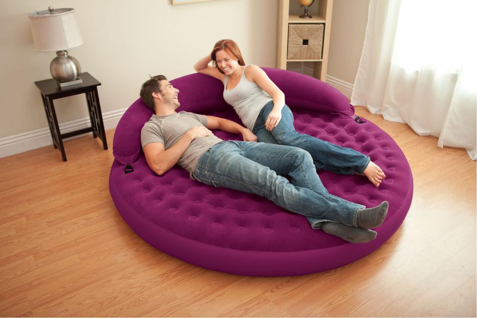 Lounge Cosy Prune Intex
