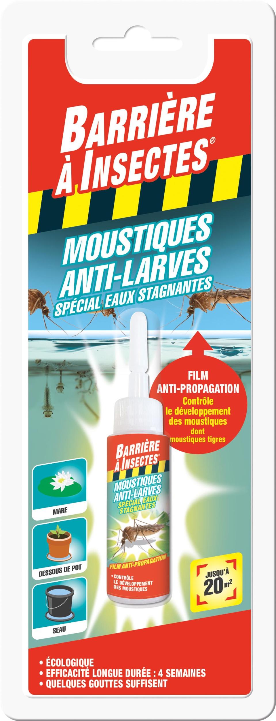 Nouveau Film Anti-larves de moustiques