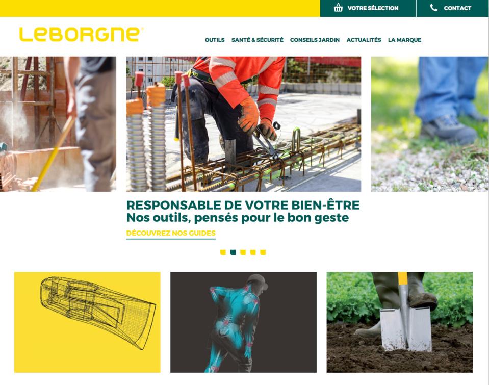 Le site Leborgne fait peau neuve