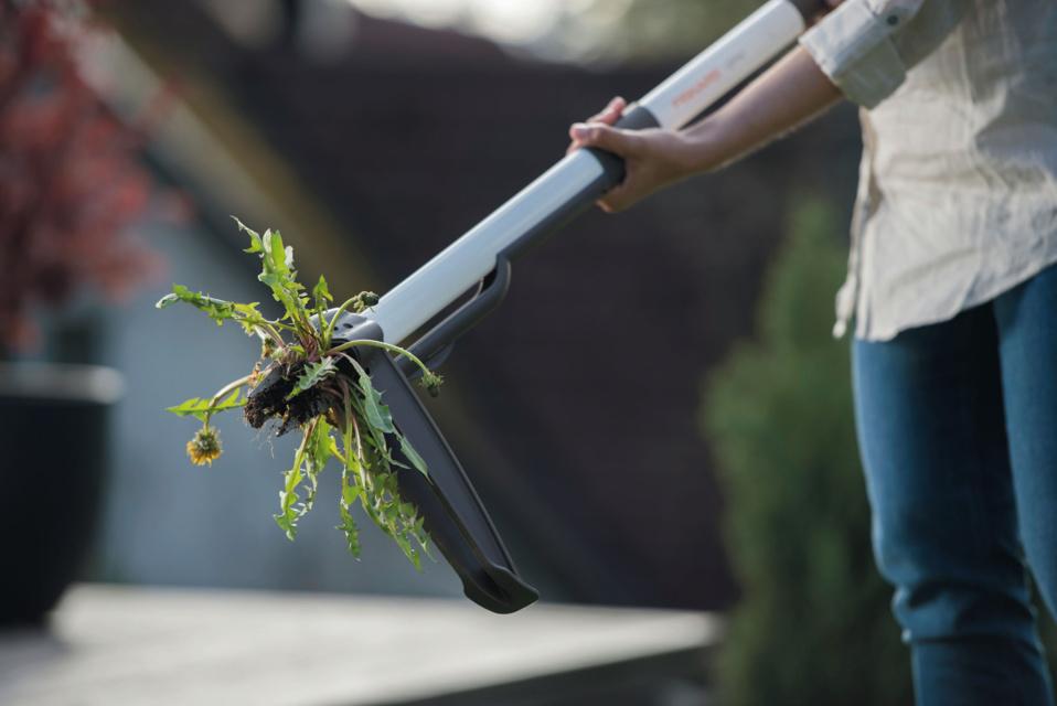 Adieu les mauvaises herbes ! Les désherbeurs Fiskars font peaux neuves