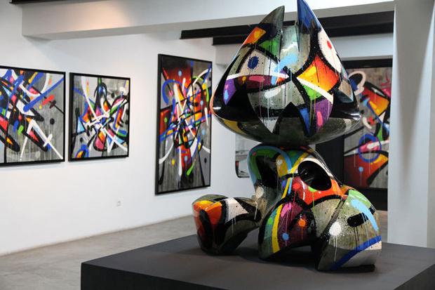 La quête de l'art ne fait que commencer à la galerie David Bloch