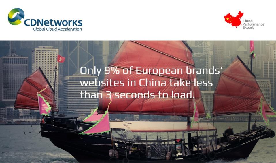 Etude CDNetworks : plus de 80% des sites Internet français s'affichent trop lentement en Chine