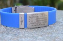 Bracelets d'identité médicale Data Vitae