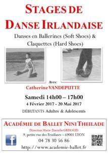Académie de Ballet Nini Theilade- Stage de Danse Irlandaise