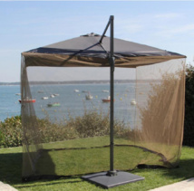 Parasol et moustiquaire ProLoisirs