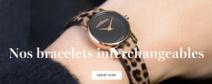 Idées cadeaux pour elle: Montre à bracelets interchangeables