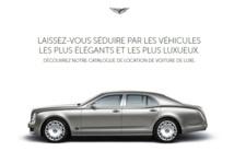Pour louer une voiture de prestige