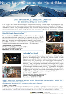 News from Chamonix Mont-Blanc