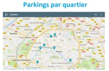 Trouvez un parking à Paris par quartier