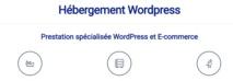Pour un hébergement web fiable et une infogérance performante