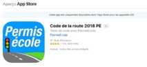 La meilleure application IOS code de la route 2018