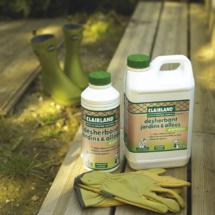 CLAIRLAND - Nouvelle gamme de Désherbants à base de principe actif d'origine végétale : HERBISTOP®
