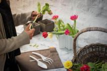 Un set de jardinage urbain FISKARS - Pour jardiner... sans jardin