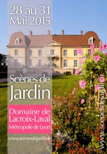 BRADSTONE au Premier Salon Scènes de Jardin - Domaine de Lacroix-Laval du 28 au 31 mai 2015