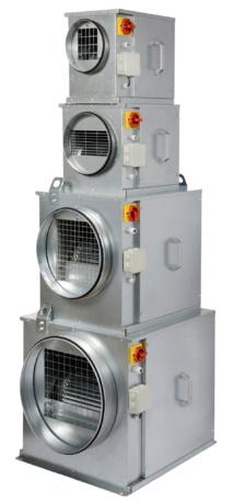 NOUVELLE GAMME CIBOX : Caissons de ventilation tertiaire basse consommation à haute performance aéraulique