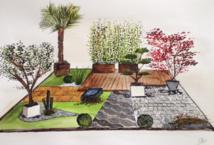 Techniseal expose au salon Scènes de Jardin sous l'inspiration créatrice du paysagiste Charles-Henri Douzet