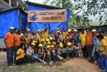 Réouverture de l'école d'un village népalais grâce aux ministres bénévoles scientologues