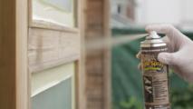 Nouveauté BATIMAT - Xylo Spray Haute protection - Le premier aérosol qui protège et entretient durablement tous les bois extérieurs