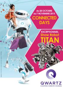 QWARTZ, le 1er centre commercial connecté,  lance la 1re édition des CONNECTED DAYS