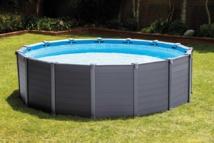 Nouveauté 2016 INTEX - Piscine Graphite - Une piscine résistante et ultra-tendance