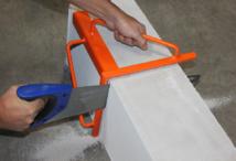 Gabarit de coupe pour béton cellulaire EDMA OUTILLAGE - Pour des coupes parfaites