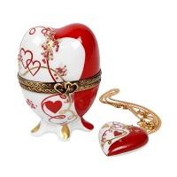 Laure Sélignac fête la Saint-Valentin