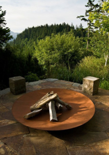 Aménagement paysager en acier CorTen SO GARDEN : dans l'air du temps