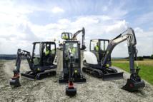 En première mondiale : six nouvelles minipelles XL signées Terex