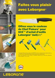 Opération promo sur la gamme Leborgne® Batipro®