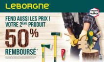 Opération promotionnelle - Leborgne® fend aussi les prix !