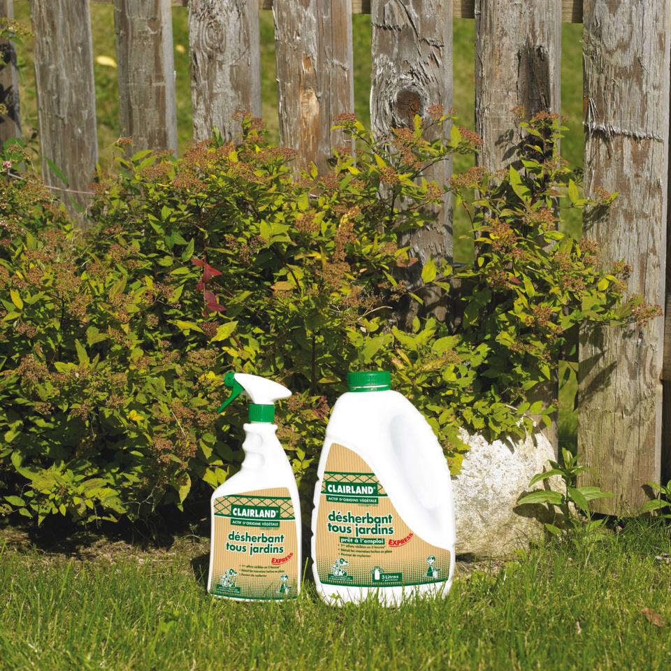 Nouveau Désherbant Tous Jardins Express : Herbistop Spray