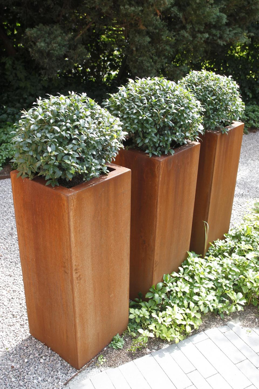 Bacs et jardinières So Garden - Acier Corten : un matériau intemporel