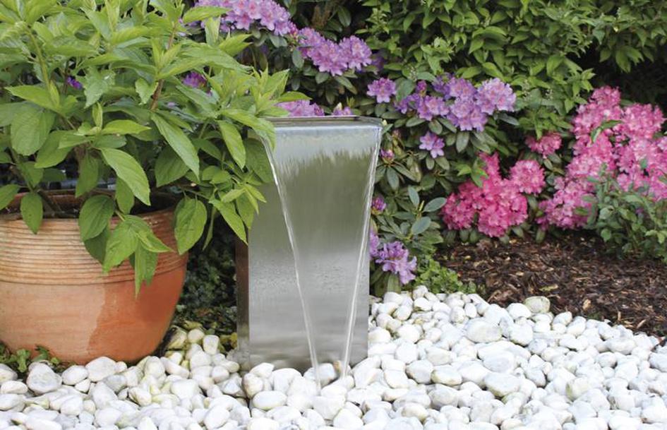 Lames d'eau en acier inox  OASE