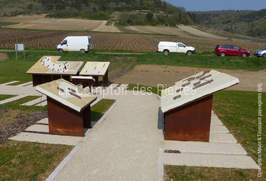 La pierre de Bourgogne à l'honneur des terroirs des vins de Bourgogne