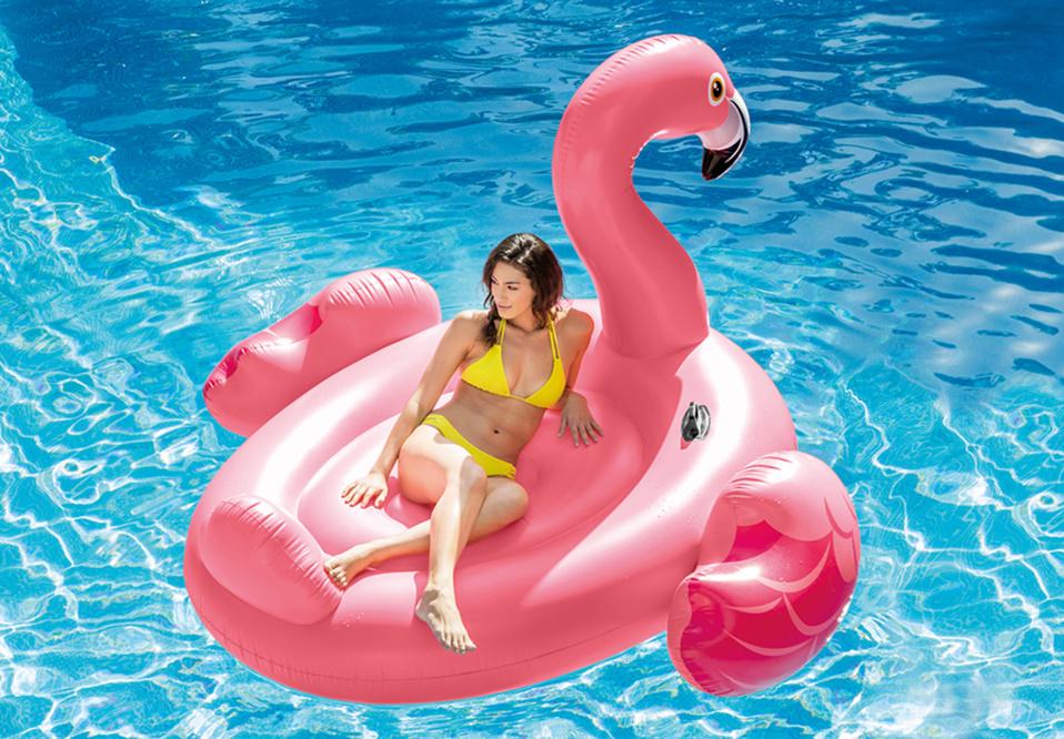 Gonflés, les jeux d'été Intex se jettent à l'eau !