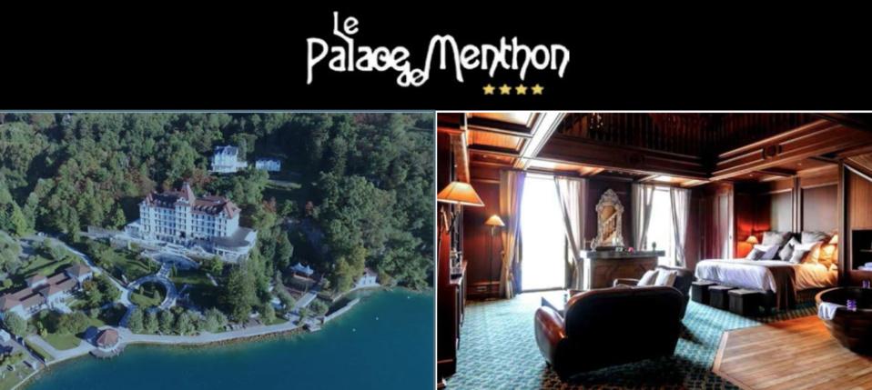 Faire le plein de sensations au Palace de Menthon