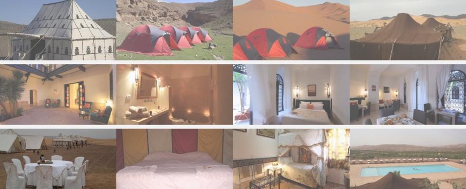 Logement et tour du désert au Maroc