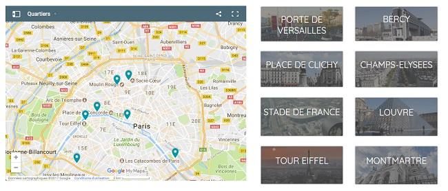 Tous les parkings parisiens par quartier