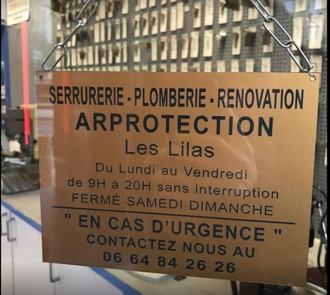 Toutes prestations de serrurerie à Paris
